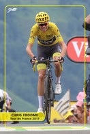 Ciclismo, Cyclisme, Cycling. Cartolina Col. Chris FROOME - Ciclismo