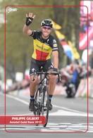 Ciclismo, Cyclisme, Cycling. Cartolina Col. Philippe GILBERT - Ciclismo