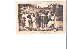 C.P.A. BENIN   Groupe D'Ecoliers à EKITI ADO - Schools