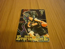 Peja Stojaković PAOK Sacramento Kings NBA Basketball Old Greek Trading Card - Singles