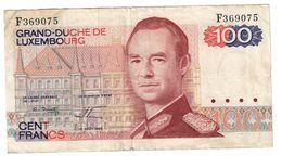 Luxembourg 100 Francs 14/08/1980 - Lussemburgo