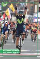 Ciclismo, Cyclisme, Cycling. Cartolina Col. Alejandro VALVERDE - Ciclismo