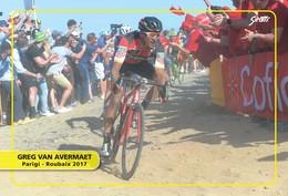 Ciclismo, Cyclisme, Cycling. Cartolina Col. Greg VAN AVERMAET - Ciclismo
