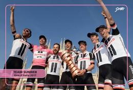 Ciclismo, Cyclisme, Cycling. Cartolina Col. Gruppo SUNWEB - Ciclismo