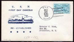 "US Navy, USS""SIBONEY"" (CVE-112) 1950, Korean War ,LOW PRICE !! Look Scan, RARE !! 21.3-18 - Bateaux"