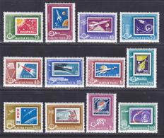 HONGRIE AERIENS N°  258 à 269 ** MNH Neufs Sans Charnière, TB (D5982) Cosmos, Timbres Sur Timbres - Poste Aérienne