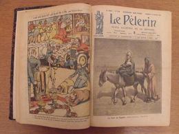 Recueil Reliure 1921. Le Pélerin. La Bonne Presse. Nombreuses Illustrations Couleurs - Libri, Riviste, Fumetti
