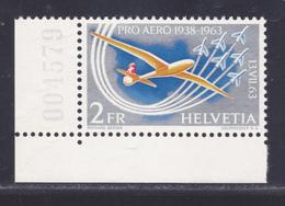 SUISSE AERIENS N°   45 ** MNH Neuf Sans Charnière, TB (D5983) Traversée Aérienne Des Alpes Par Oscar Bider - Neufs