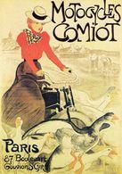Motocycles Comiot  -  Publicité Vélos  -  CPM - Ciclismo
