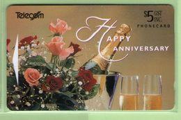New Zealand - Gift Cards - 1995 Happy Anniversary $5 - NZ-G-13 - VFU - New Zealand