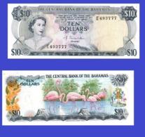 Bahamas  10    Dollar  -- 1974a   -- Copy - Copy- Replica - REPRODUCTIONS - Bahamas
