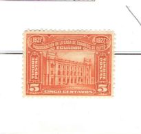 Ecuador PO 1927 Quito Post Office  Scott.269+See Scan On Scott. Page - Ecuador