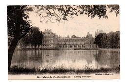 """77 - PALAIS DE FONTAINEBLEAU . L'ÉTANG DES CARPES . CACHET """" LA BOUQUINERIE """" Ph. DUBOURG CAMBO - Réf. N°8520 - - Fontainebleau"""