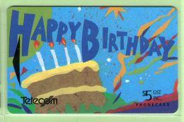 New Zealand - Gift Cards - 1994 Happy Birthday $5 - NZ-G-11 - VFU - New Zealand