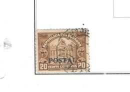 Ecuador PO 1928 1924 Postal Taxe Ovpr.  Scott.273+See Scan On Scott. Page - Ecuador