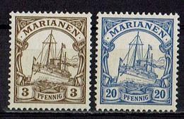 Marianen 1901 // Mi 7,10 ** - Kolonie: Marianen
