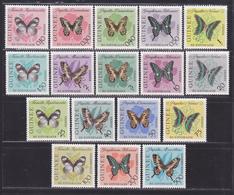 GUINEE N°  146 à 159, AERIENS N° 32 à 34 ** MNH Neufs Sans Charnière, TB (D5986) Insectes, Papillons 1963 - Guinée (1958-...)