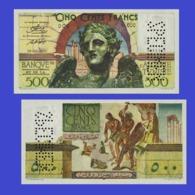 TUNISIA 500  FRANCS 1949 -- Copy - Copy- Replica - REPRODUCTIONS - Tunesien