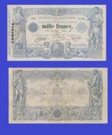 TUNISIA 1000  FRANCS 1924 -- Copy - Copy- Replica - REPRODUCTIONS - Tunesien