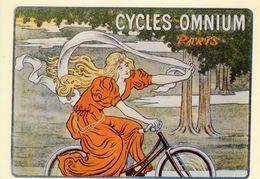 Cycles Omnium -  Publicité Vélos   -  CPM - Ciclismo