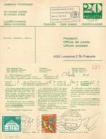 """PK  PTT VIII-5  """"Einforderung Fehlender Frankaturen""""  (PTT Form 099.22)          1970 - Ganzsachen"""