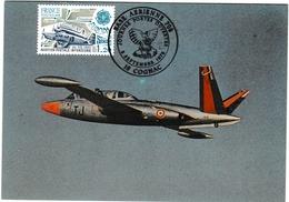 Cognac 1979 - Portes Ouvertes Base Aérienne Armée De L'air - Avion Fouga - Airplane Flugzeug - Cachets Militaires A Partir De 1900 (hors Guerres)