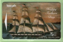 New Zealand - Gift Cards - 1994 Fathers Day $5 - NZ-G-6 - VFU - New Zealand