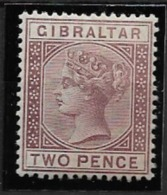 1886 MH Gibraltar - Gibraltar