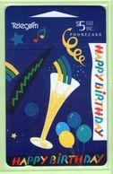 New Zealand - Gift Cards - 1994 Happy Birthday $5 - NZ-G-3 - VFU - New Zealand