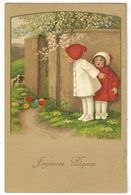 108 - Joyeuses Paques - Fillettes - Pauli Ebner - Ebner, Pauli
