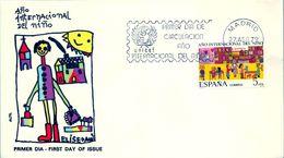 1979 , SOBRE DE PRIMER DIA , ED. 2519 , AÑO INTERNACIONAL DEL NIÑO - FDC