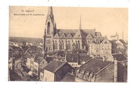 6670 ST. INGBERT, Kaiserstrasse Mit St. Josefskirche, 1919 - Saarpfalz-Kreis