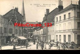 "10 - Aube - TROYES - "" Marché Aux Puces - Rue Passerat "" - Troyes"