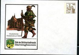Bund PU114 B2/002 Privat-Umschlag KLOSTERKIRCHE BARSINGHAUSEN 1979 - Klöster