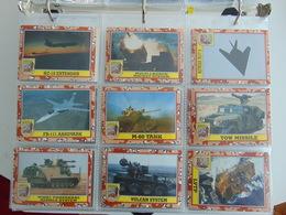 Cartes Desert Storm Serie III (177 'a 264 Plus Stickers 34 'a 44) ByTopps - Cinema & TV