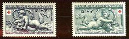 TIMBRE FRANCE CROIX-ROUGE 1952 N°937 Et N°938 NEUF Avec GOMME* Cote 8 Euro - France