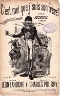 CAF CONC HUMOUR PAYSANNERIE PARTITION XIX C'EST MOI QUE J'SUIS SON FRÈRE LAROCHE POURNY ILL BUTSCHA DUCASTEL - Music & Instruments