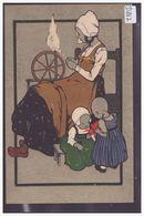 ENFANTS HOLLANDAIS - ILLUSTRATEUR NON IDENTIFIE - TB - Autres Illustrateurs