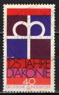 GERMANIA - 1974 - 125 ANNI DELLE OPERE DIACONALI DELLA CHIESA PROTESTANTE - USATO - [7] Repubblica Federale