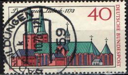 GERMANIA - 1973 - 8° CENTENARIO DELLA CATTEDRALE DI LUBECCA - USATO - [7] Repubblica Federale