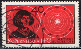 GERMANIA - 1973 - 5° CENTENARIO DELLA NASCITA DI NICCOLO' COPERNICO - USATO - [7] Repubblica Federale