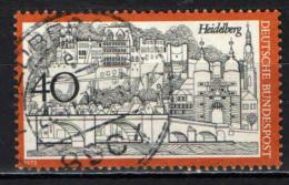 GERMANIA - 1972 - VEDUTA DI HEIDELBERG - USATO - [7] Repubblica Federale
