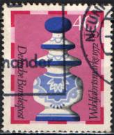 GERMANIA - 1972 - PEZZI DEL GIOCO DEGLI SCACCHI: REGINA - USATO - [7] Repubblica Federale
