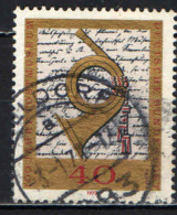 GERMANIA - 1972 - CENTENARIO DEL MUSEO POSTALE - USATO - [7] Repubblica Federale