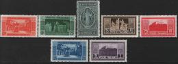 Italia Regno 1929 Sass.262/68 **/MNH VF/F - 1900-44 Vittorio Emanuele III