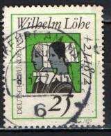 GERMANIA - 1972 - CENTENARIO DELLA MORTE DI WILHELM LOHE (1808-1872) TEOLOGO PROTESTANTE - USATO - [7] Repubblica Federale