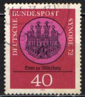 GERMANIA - 1972 - CATTEDRALE DI WURZBURG - SINODO 1972 - USATO - [7] Repubblica Federale