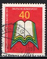 GERMANIA - 1972 - ANNO INTERNAZIONALE DEL LIBRO - USATO - [7] Repubblica Federale
