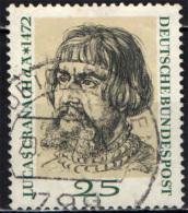 GERMANIA - 1972 - 5° CENTENARIO DELLA NASCITA DI LUCAS CRANACH IL VECCHIO - PITTORE - USATO - [7] Repubblica Federale
