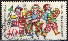 GERMANIA - 1972 - 150° ANNIVERSARIO DEL CARNEVALE DI COLONIA - USATO - [7] Repubblica Federale